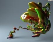 3D Glass Imaginations Wallpapers F81cf0107965945
