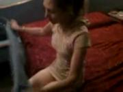 Stefanny grabada en un hotel de Tlalnepantla