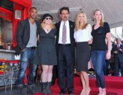 AJ Cook-Joe Mantegna's Star Ceremony April 29th 2011
