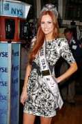 Miss USA 2011 Alyssa Campanella Rings Closing Bell at the New York Stock Exchange, 23 June, x8