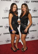 Bella Twins-Matt Leinart Foundation Celebrity Bowl